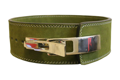 10mm Lever Belt (Color: GREEN)