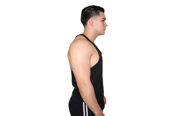 91cdc799917afb Stringer Tank  BLACK (with BLACK logo) – Pump Chasers Clothing