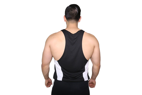 8921f77fc47f5 Performance Stringer  BLACK (with WHITE logo) – Pump Chasers Clothing