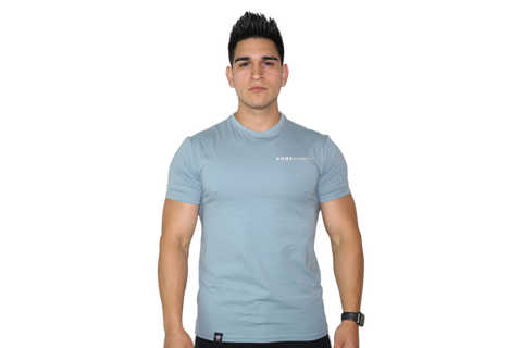 Men's Premium Tee: Teal (with White Logo)