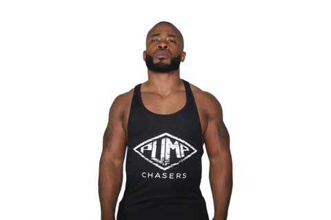 Tapered Waist Stringer: BLACK (with White logo) ''Read The Description''