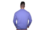 Men's 3D Crew Neck: Midnight Blue (with Midnight Blue Letters)