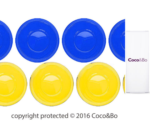 Minions Yellow & Blue Party Bowls