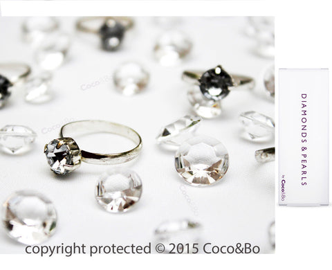 Breakfast at Tiffany's Diamond & Ring Confetti