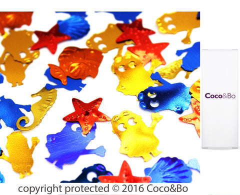 Minions Party Table Confetti
