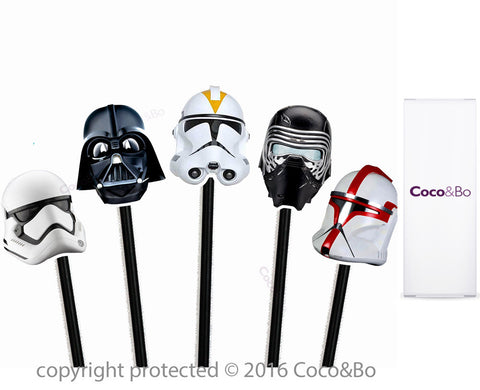 Star Wars Villains Cupcake Picks