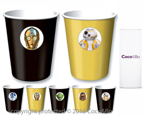 Star Wars Heroes Party Cups - Treat Tubs