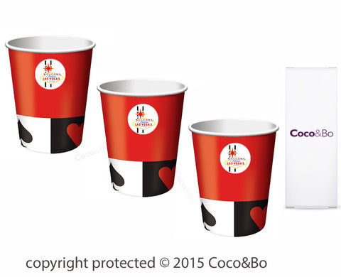Casino Party Cups