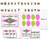 Platinum - Honeydukes Room Decoration Party Pack