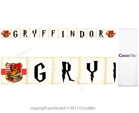 Gryffindor House Bunting 1.6m - Harry Potter