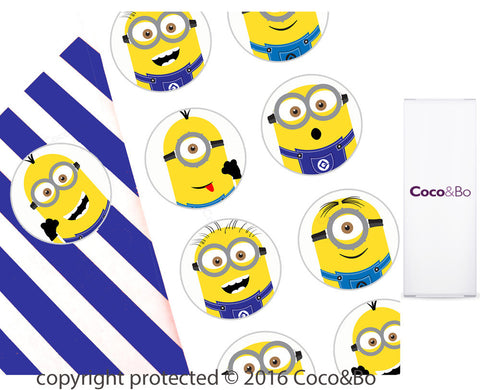 Minions Party Stickers