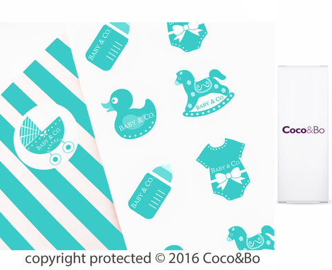 Baby & Co Party Stickers
