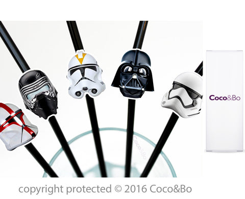 Star Wars Villains Party Straws