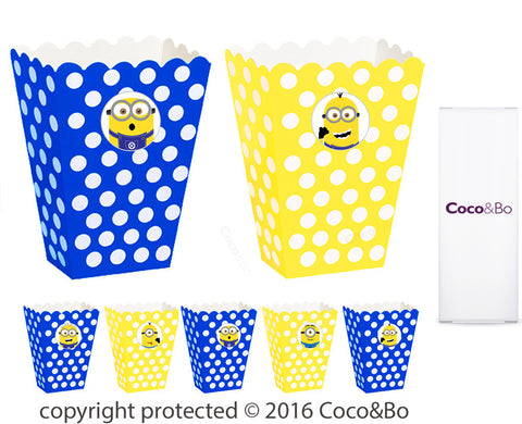 Minions Party Treat Boxes