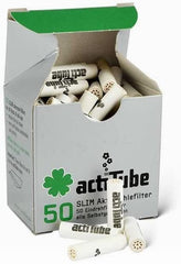 Acti tube - activated charcoal filters