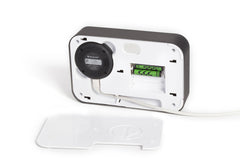 LED Alarm Clock to Hide Your Dropcam WhitePic Back Open