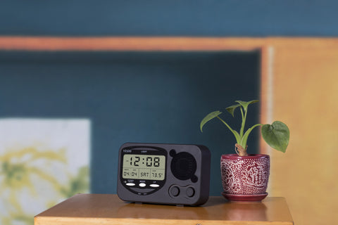 LED Alarm Clock to Hide your Dropcam Mood 1