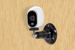 Black Security Wall Mount- Adjustable Indoor/Outdoor Mount for Arlo Cam and Other Compatible Models
