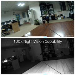 Hidden Dropcam enclosure night vision