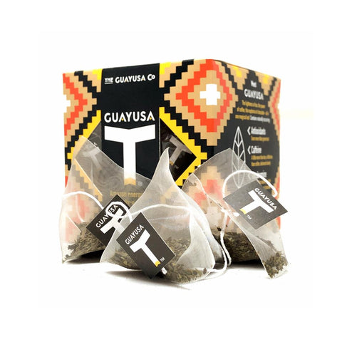 Black Guayusa - 20 Biodegradable Pyramid Bags