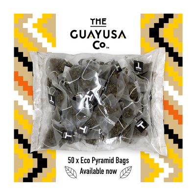 50 pack of Guayusa tea bags