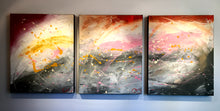 "'Feels like fall'  - 48"" X 20"" Original Abstract  Art."