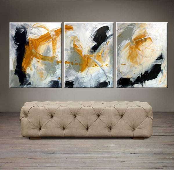 "Day Dreaming  - 48"" X 20"" Original Abstract  Art."