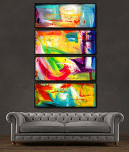"'Be Still ' - 48"" X 30"" Original Abstract Art Painting - Lulus Gallery - 2"