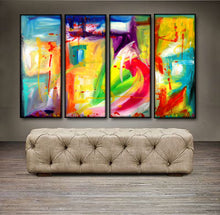 "'Be Still ' - 48"" X 30"" Original Abstract Art Painting - Lulu's Gallery of Fineart"