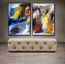 "'Ashley's Choice' - 48"" X 30"" Original Abstract Paintings."