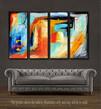 "'Inspired II' - 48"" X 30"" Original Abstract Painting."