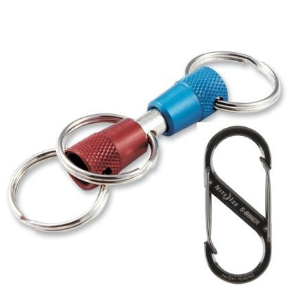 Key E-Z: 3-Way Key Ring & Clip Kit