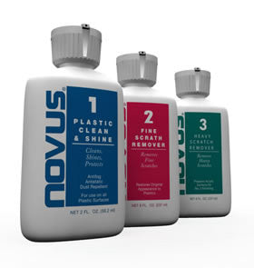 Novus 1, 2 & 3 Plastic Cleaning Kits - SAVE 25%