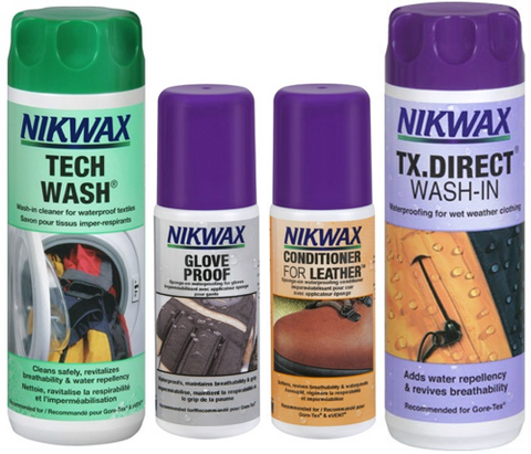 Nikwax Textile Kit – A Sound RIDER! Exclusive – SAVE 10%
