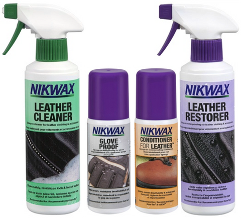 Nikwax Leather Kit – A Sound RIDER Exclusive – SAVE 10%
