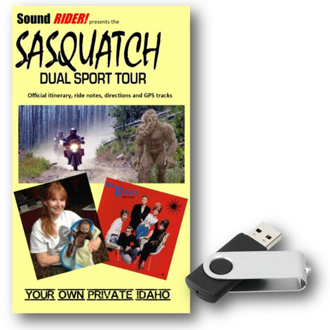 Sasquatch Dual Sport Adventure Tour: Your Own Private Idaho