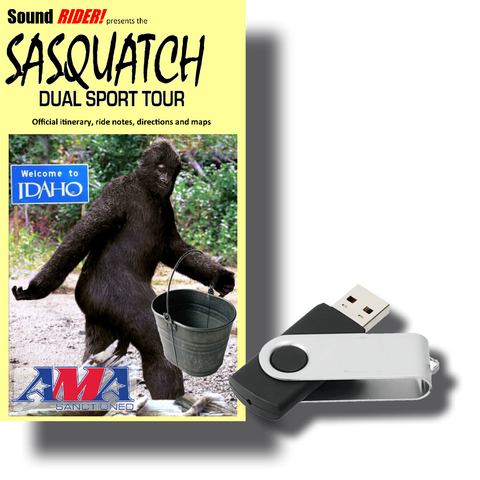 Sasquatch Dual Sport Adventure Tour: The Idaho Bucket List