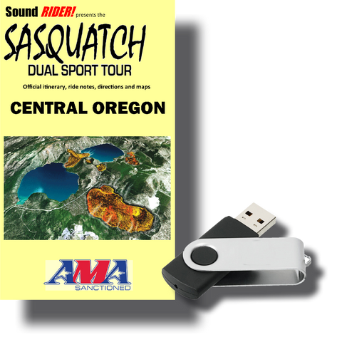 Sasquatch Dual Sport Adventure Tour: Central & Eastern Oregon