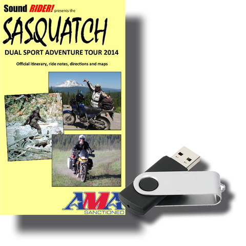 Sasquatch Dual Sport Adventure Tour: Washington Cascades - North to South