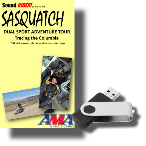 Sasquatch Dual Sport Adventure Tour: Tracing the Columbia