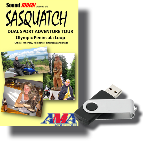 Sasquatch Dual Sport Adventure Tour: Olympic Peninsula Loop
