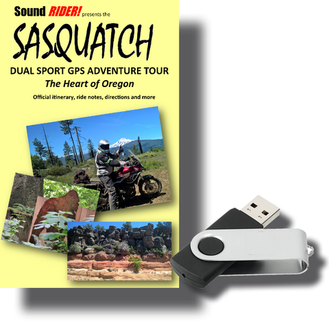 Sasquatch Dual Sport Adventure Tour: The Heart of Oregon