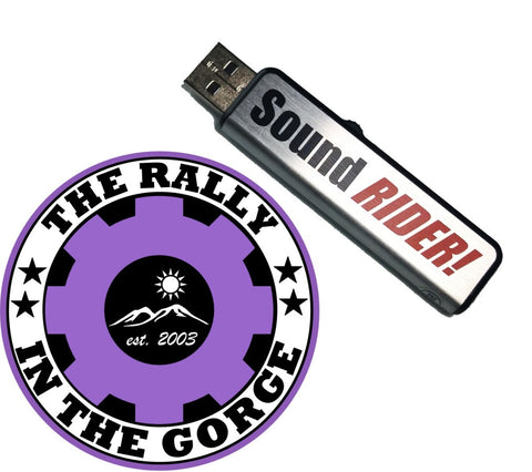 2018 Rally in the Gorge – Thumb Drive edition