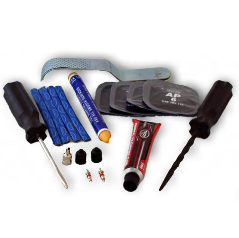 Sound RIDER! Ultimate Motorcycle Tech Tire Repair Kit