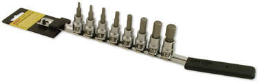 8-Piece Hex Bit Set - Metric by CruzTOOLS