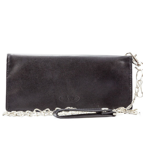Big Skinny Nylon Motorcycle Wallet w/Chain
