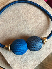 Baller Necklace Pacific Blue