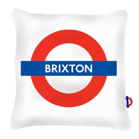 Brixton tube cushion