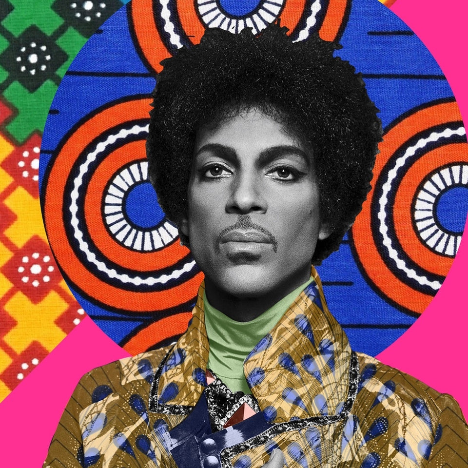 Prince Collage Art Print