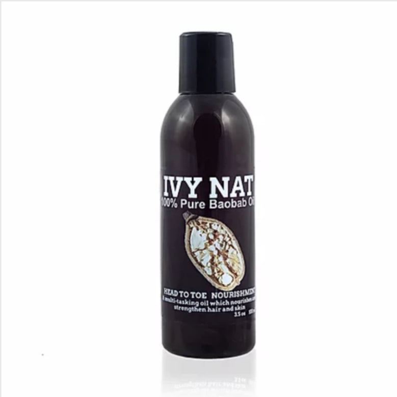 Ivy Nat Unrefined Cold-Pressed Baobab Oil